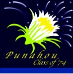 PUNAHOU Class of '74 EMBROIDERY