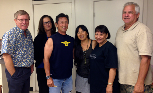 Classmates who enhanced the Punahou74 Reunion Committee with their attendance at the October meeting: