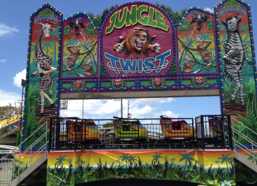 Jungle Twist ride