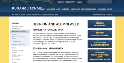 Reunion Registration