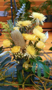 Metcalf yellow arrangement
