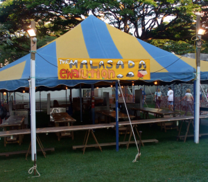 "Punahou74 worked at ""The Malasada Ewalution"" during 2011's ""The Carnival Before Time."""