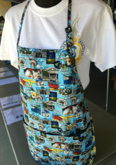 175 Blue Carnival Fabric