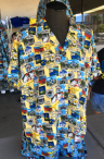 175 Yellow Carnival Fabric
