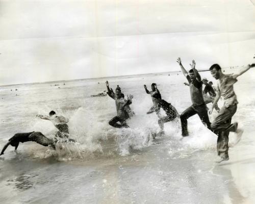 1955 Carnival swim